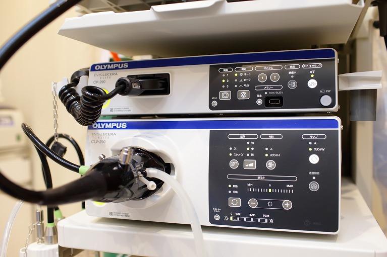 特徴4、最新の内視鏡システムを導入